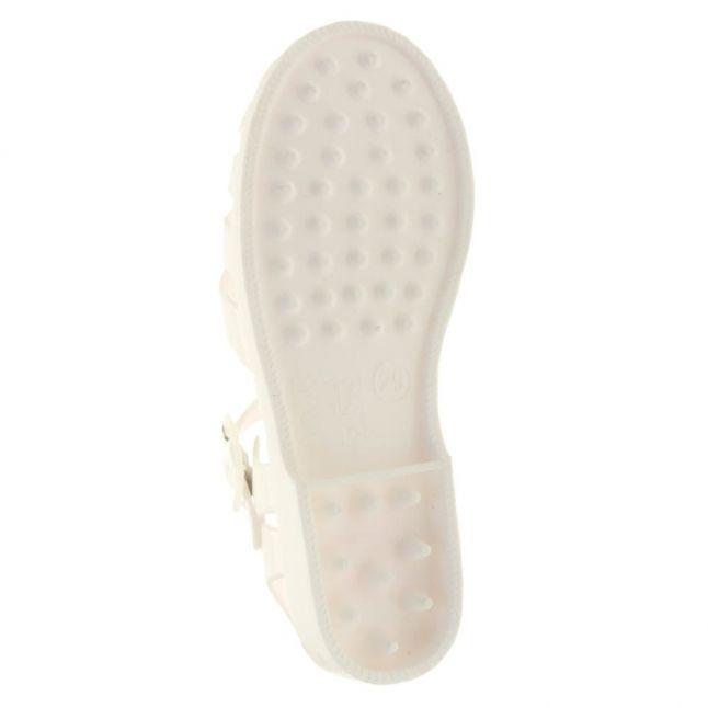 Girls White Sorrento Sandals (29-39)