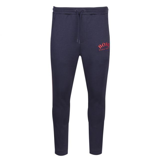 Athleisure Mens Navy/Coral Hadiko Sweat Pants