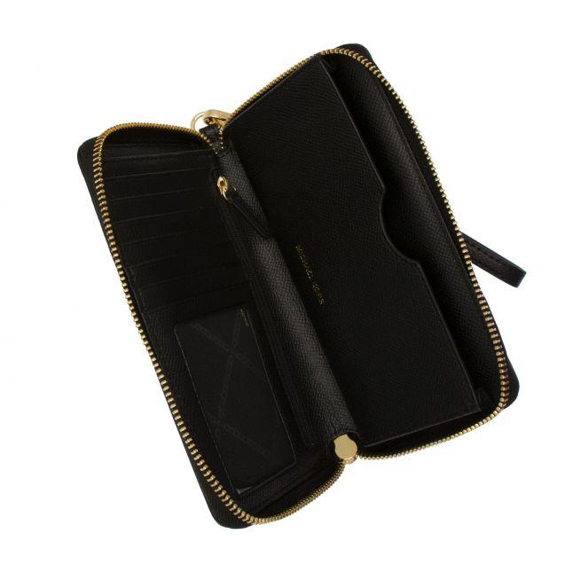 Michael Kors Womens Black Jet Set Phone Wristlet