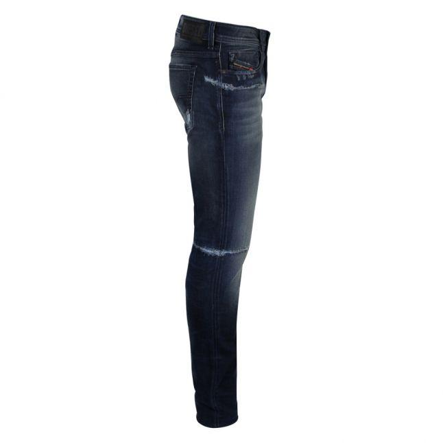 Mens Distressed Sleenker-X Skinny Fit Jeans