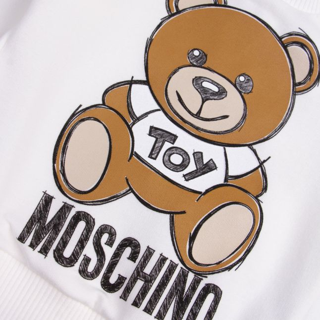 Moschino Baby Cloud Frill Toy Sweat Top