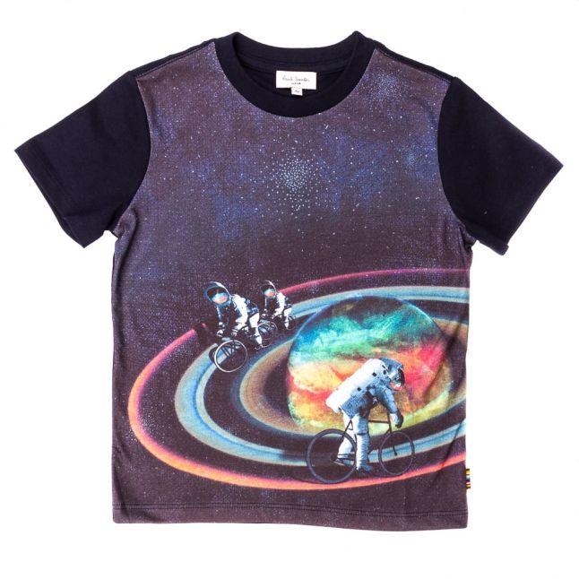 Boys Navy Naltor S/s Tee Shirt