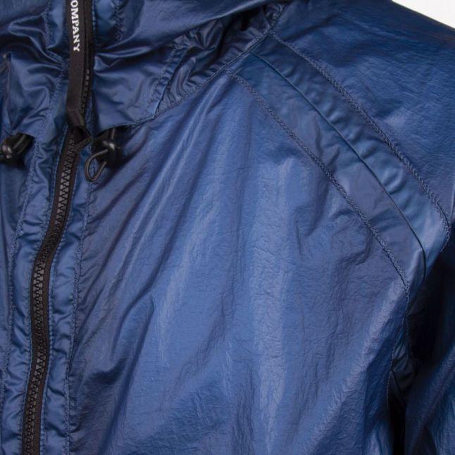Mens Lyons Blue Goggle Hooded Nyber Jacket