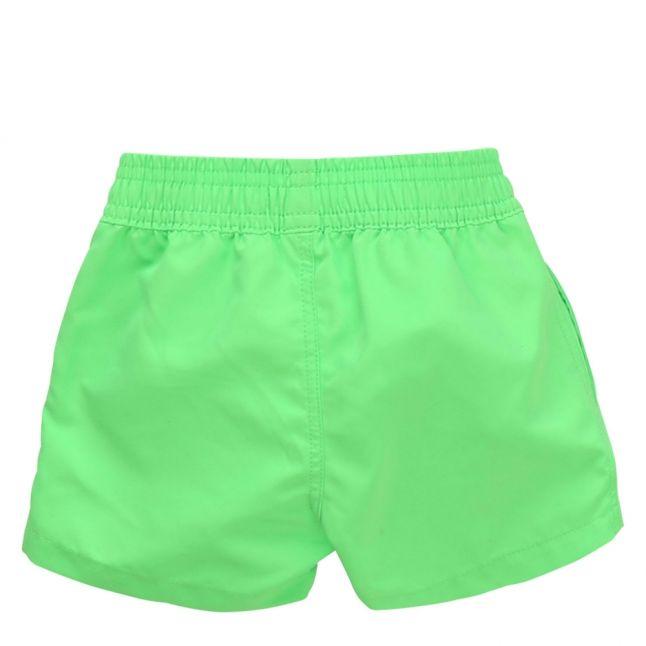 Toddler Green Logo Leg Swim Shorts