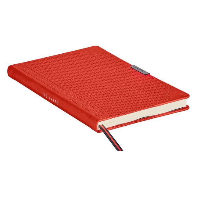 Mens Orange A5 Geo Notebook