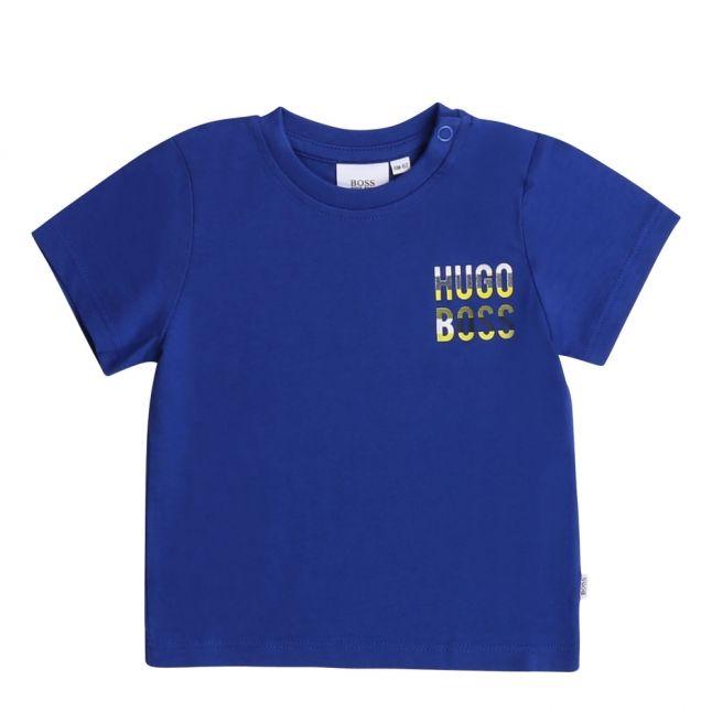 Toddler Wave Blue Colour Logo S/s T Shirt