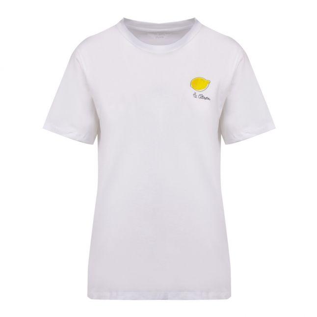 Womens Linen White Le Citron S/s T Shirt