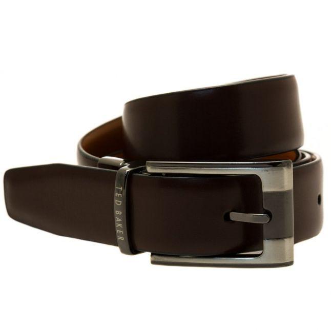 Mens Tan Crafti Reversible Belt