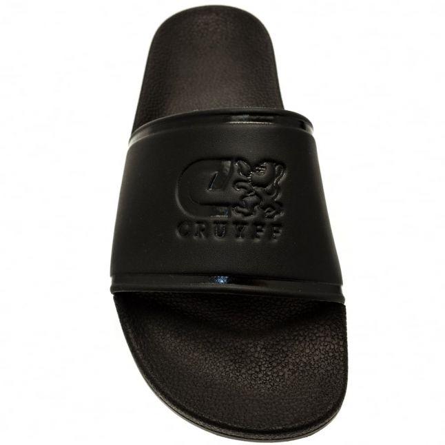 Mens Black Agua Copa Slide Sandals