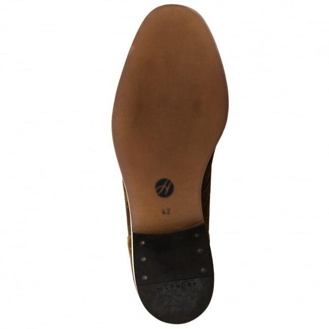 H By Hudson Mens Tobacco Houghton 3 Chukka Boots