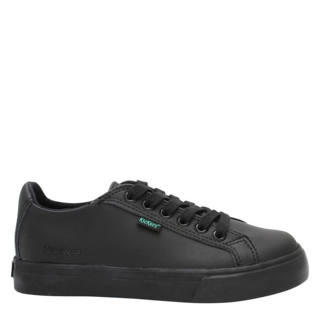 Youth Black Tovni Lacer Shoes (3-6)