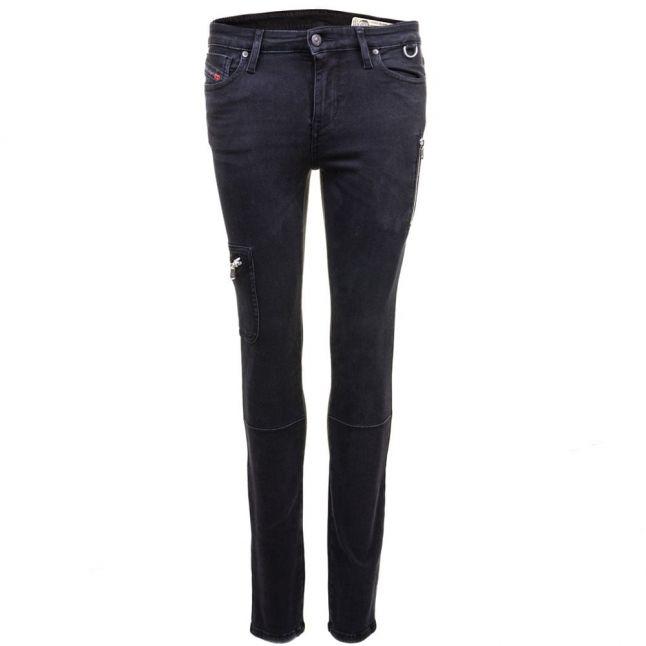 Womens Black Skinzee-Pkt Skinny Fit Jeans