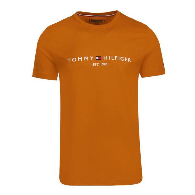 Mens Crest Gold Tommy Logo S/s T Shirt