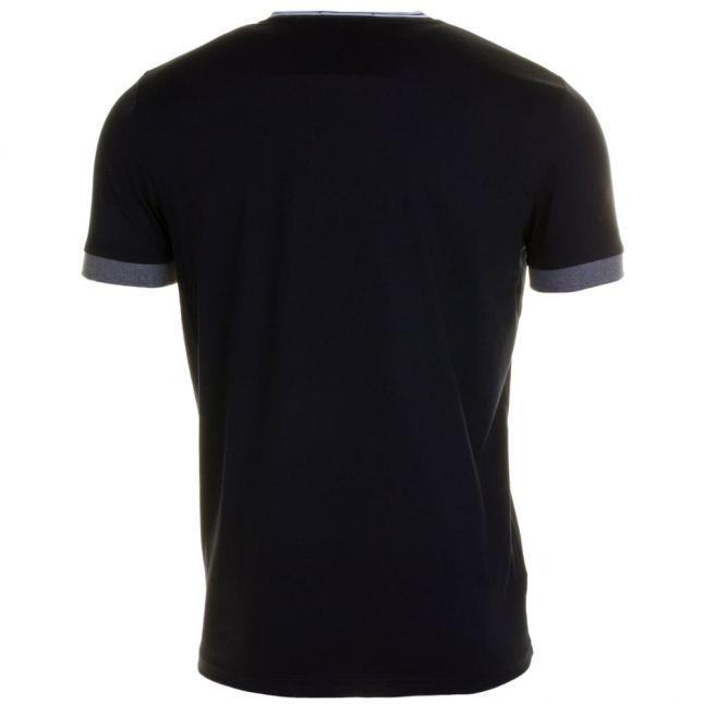 Mens Navy Tipped Ringer S/s Tee Shirt