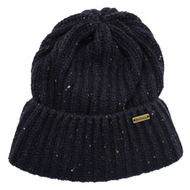 Lifestyle Mens Navy Tyne Turnback Beanie Hat
