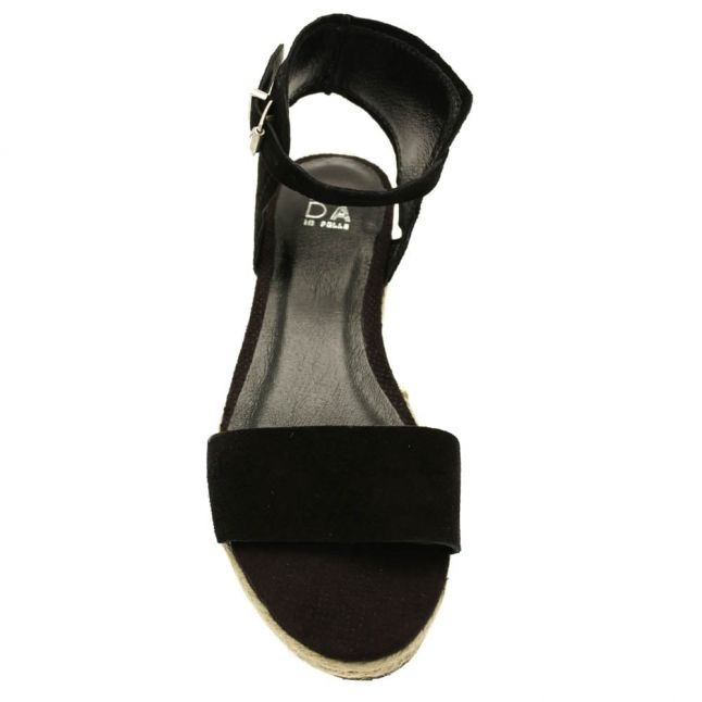 Womens Black Romina Sandals