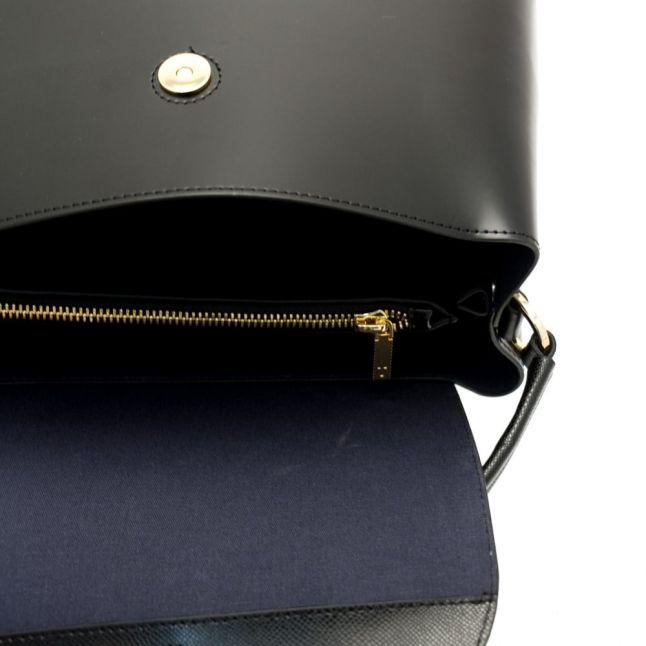 Womens Black Adalinn Micro Bow Tote Bag