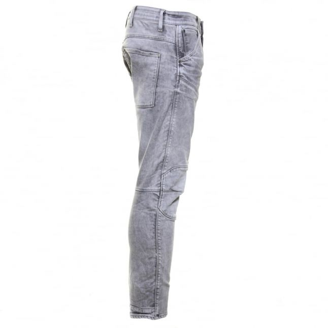 Mens Light Aged Wash 5620 3D Tapered Fit Jeans