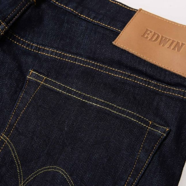 Mens Rinsed Wash ED80 Slim Tapered fit Red Listed Selvage Jeans