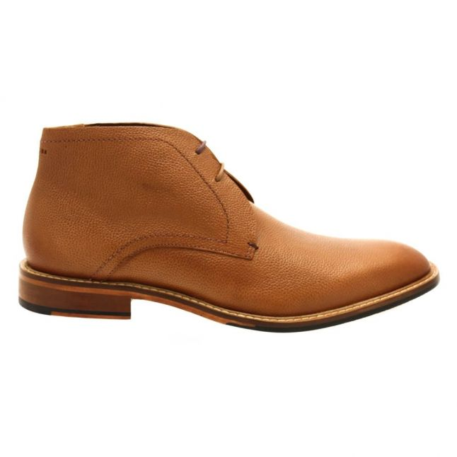 Mens Tan Torsdi4 Leather Boots