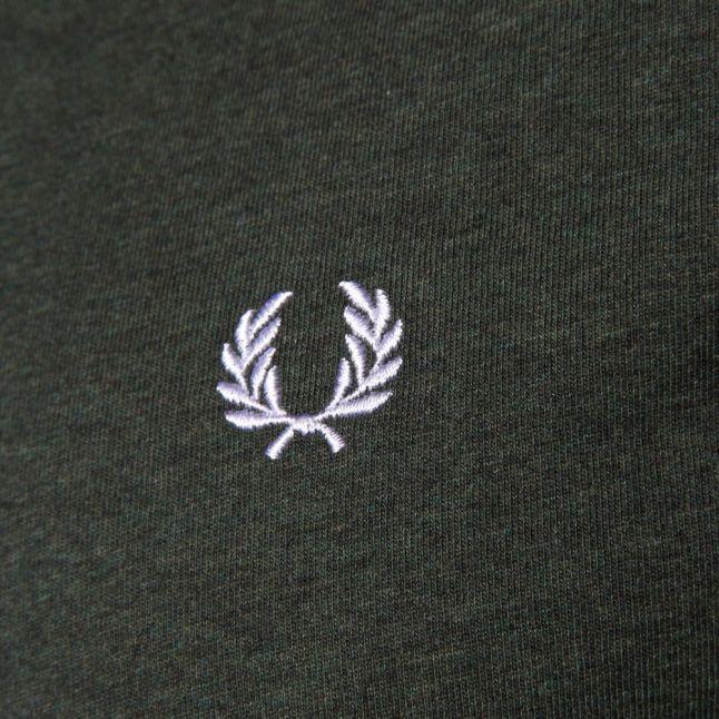 Mens Ivy Marl Crew Neck S/s Tee Shirt