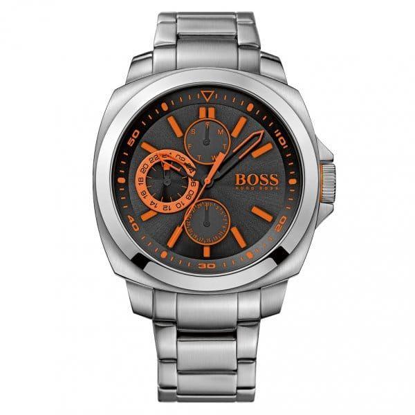 Watches Mens Black Dial Brisbane Bracelet Strap Watch