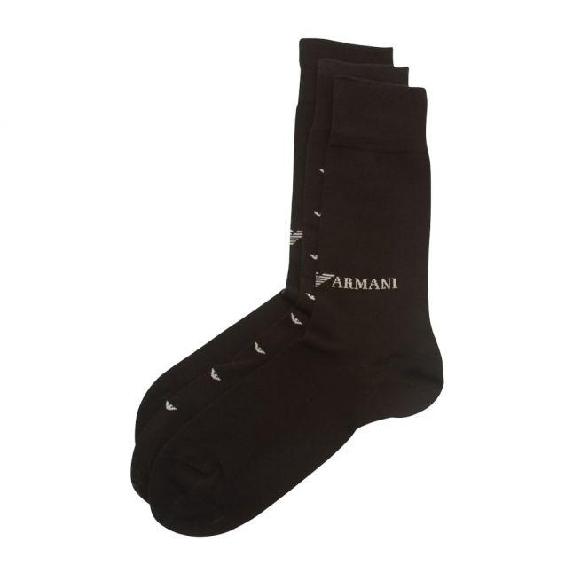 Mens Black 3 Pack Socks