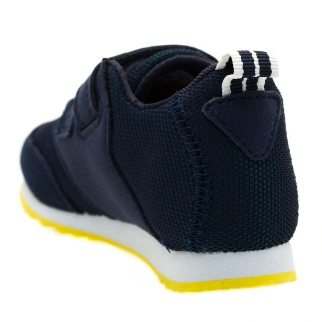 Infant Green & Navy L.ight Trainers (3-9)