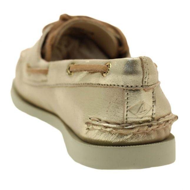 SperryWomensPlatinumTop-SiderAuthenticOriginal2-EyeBoatShoes