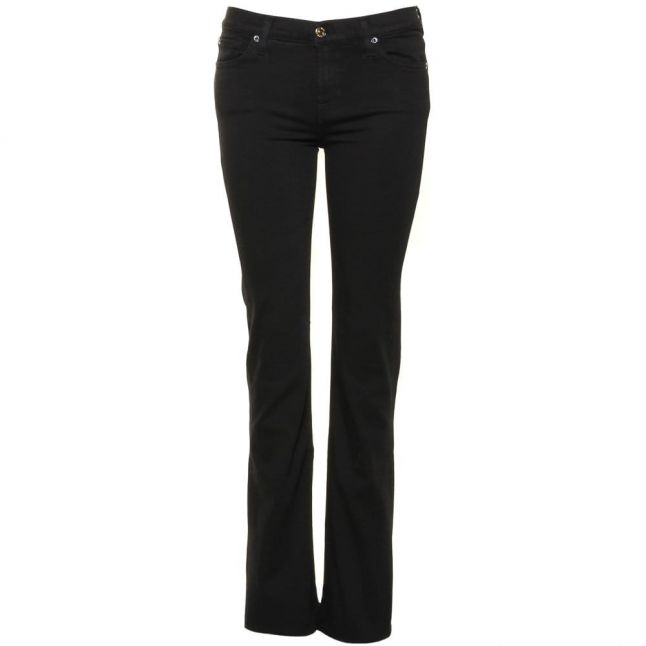 Womens Lux Rinsed Slim Illusion Skinny Bootcut Fit Jeans