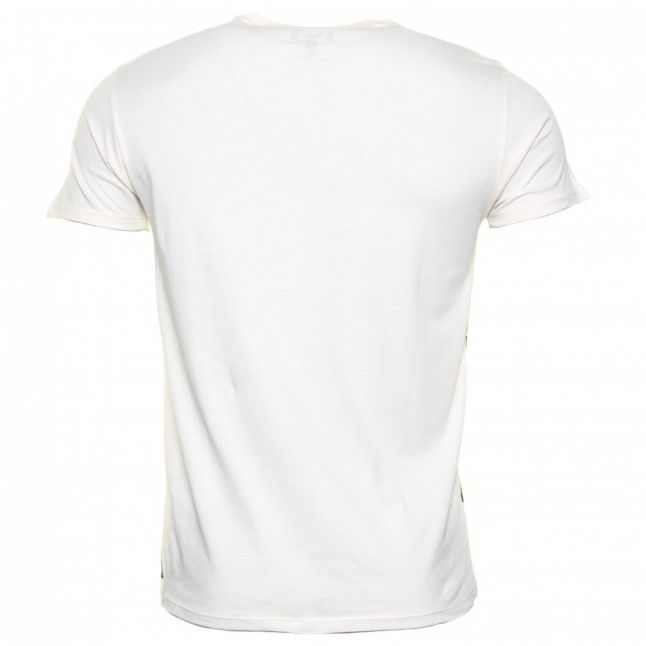 Mens Off White Eagle Photo Slim Fit S/s Tee Shirt