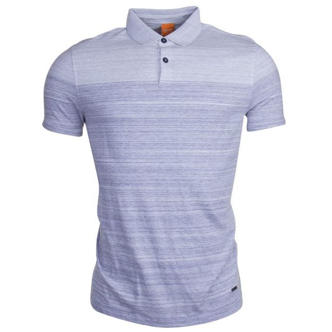 Mens Dark Blue Painter S/s Polo Shirt
