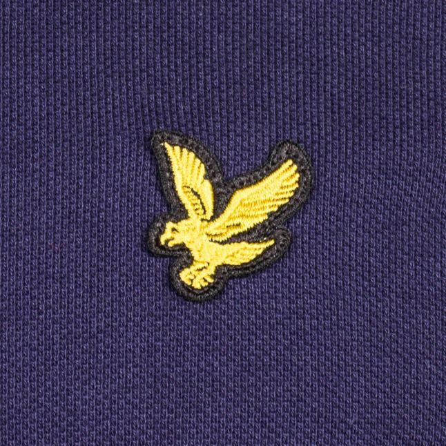 Mens Navy L/s Polo Shirt