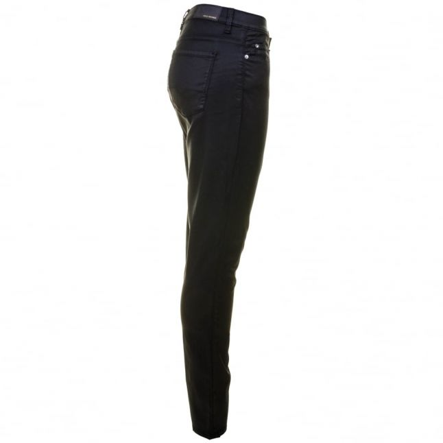 Boss Orange Womens Black J10 Florida Coated Jeans