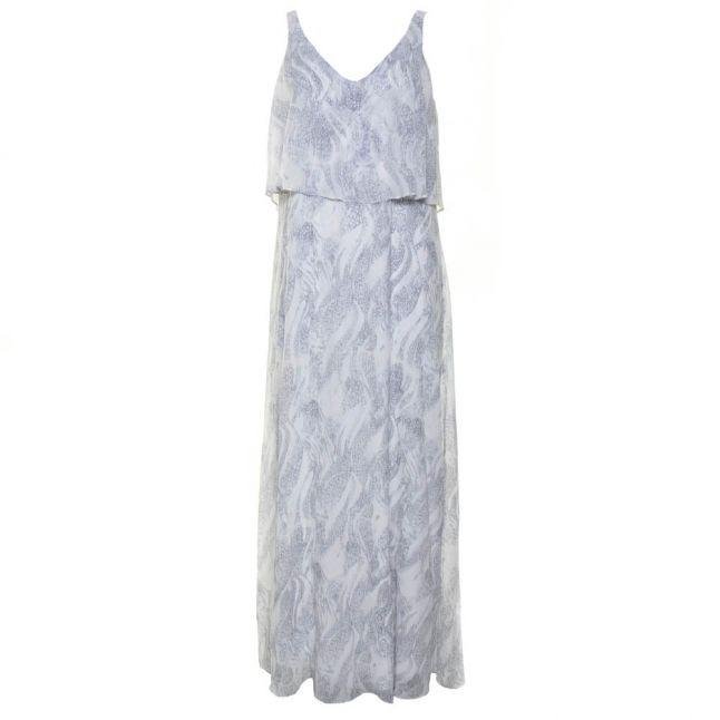 Womens Snow White Vireptile Maxi Dress