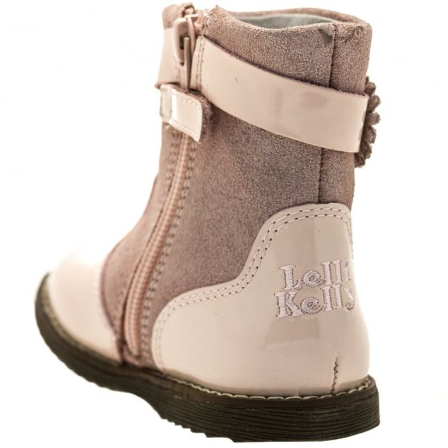 Baby Pink Patent Linda Boots (21-26)