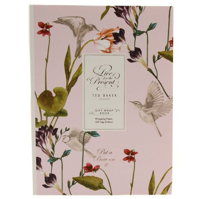 Oriental Bloom Assorted Gift Wrap Book