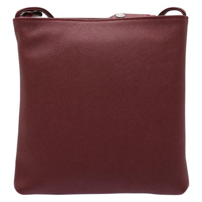 Womens Burgandy Victoria Square Crossbody Bag