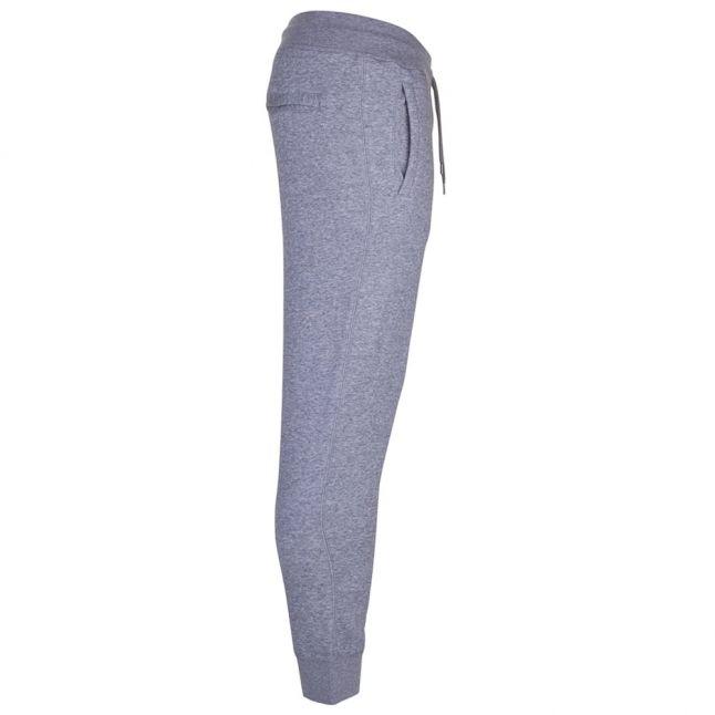 Mens Grey Cuffed Regular Fit Jog Pants
