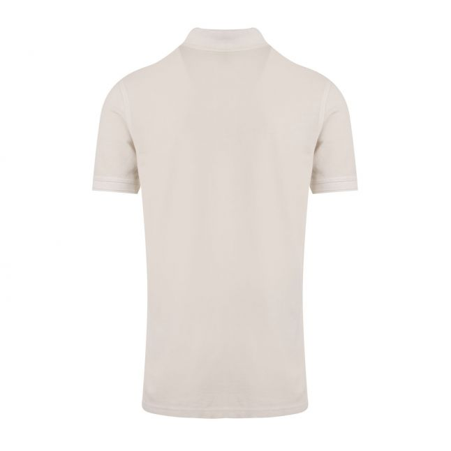 Casual Mens Light Grey Prime Slim Fit S/s Polo Shirt