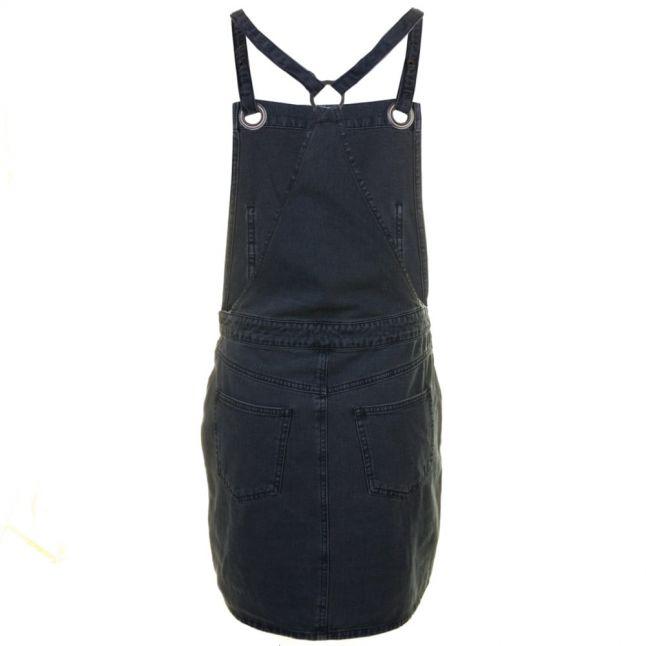 Womens Medium Blue Visetta Denim Spencer Dress