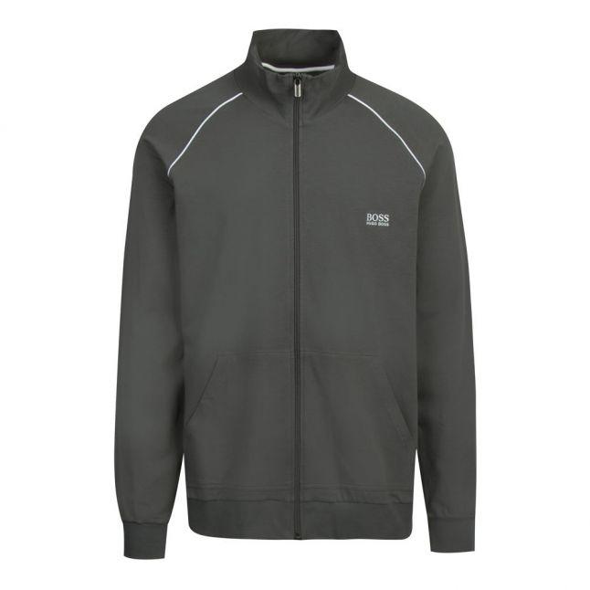 Mens Dark Green Mix & Match Soft Sweat Jacket