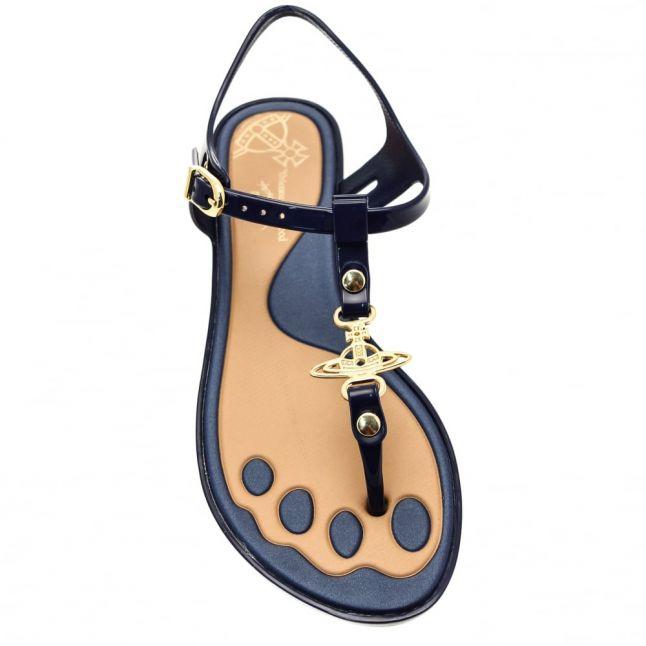 Vivienne Westwood Womens Navy Solar Orb Sandals