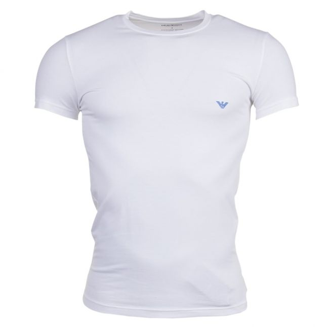 Mens White Big Eagle Tee Shirt