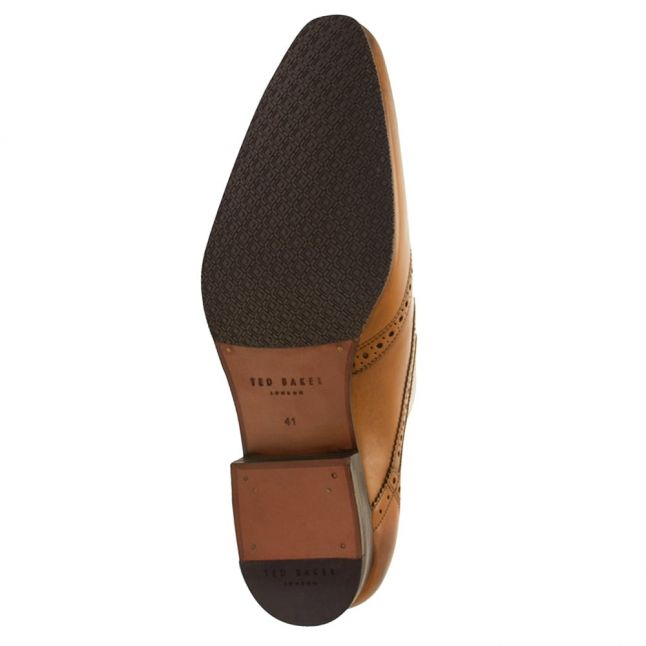 Mens Tan Hann2 Leather Derby Brogues