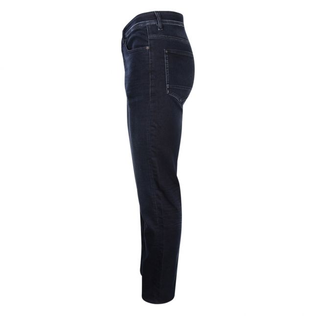 Casual Mens Dark Blue Wash Taber BC-P Tapered Jeans