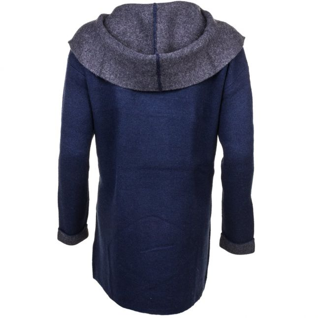 Womens Nocturnal & Charcoal Double Sided Vhari Cardigan