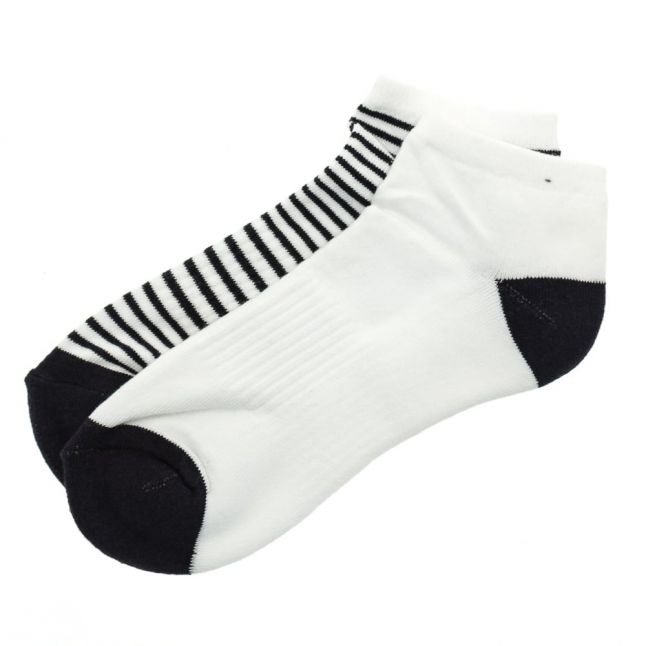 Womens Navy Scarp Socks
