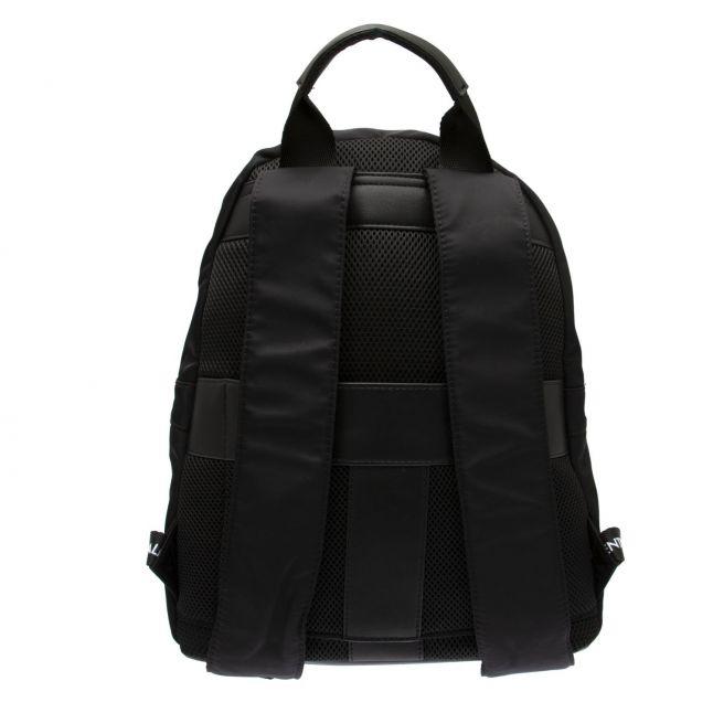 Valentino by Mario Valentino Mens Black Kylo Logo Backpack