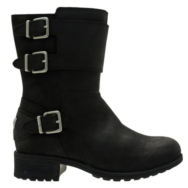 Womens Black Wilcox Boots